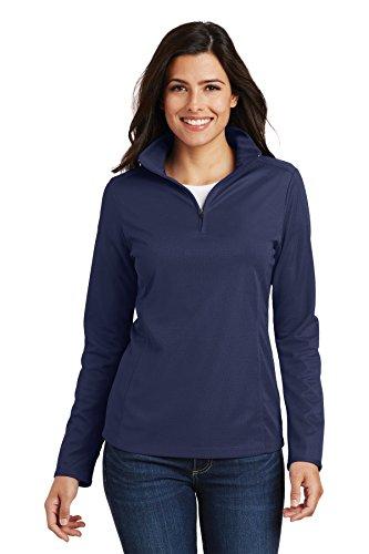 Navy Blue Ladies Mesh Jacket - 3
