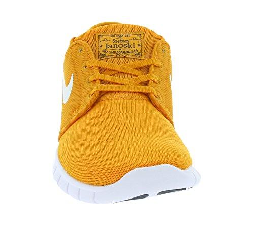 Nike Herren Stefan Janoski Max Sneaker, Orange, 47.5 EU Weiß / Schwarz (Sunset / Weiß-Obsidian)