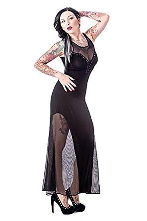 2dd721937a3 Queen of Darkness Robe Black Fetish Noir - Noir - Large  Amazon.fr ...