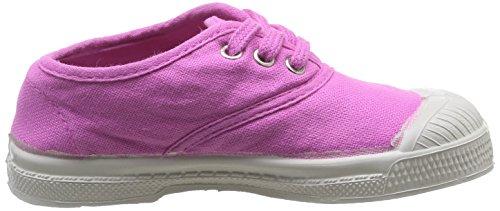 Bensimon Tennis - Primeros Pasos de canvas Bebé - unisex Rosa - Rose (Rose Indien 461)