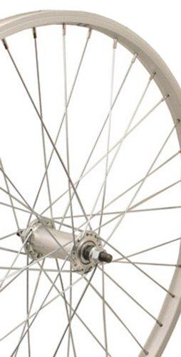 Sta Tru Silver Alex Y2000 36H Rim Front Wheel (24X1.5-Inch)
