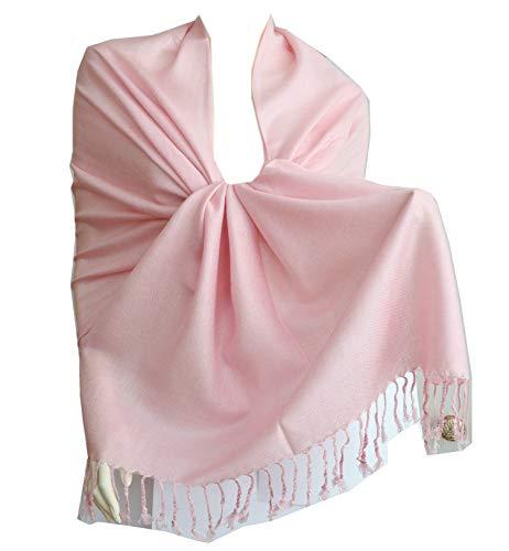New Best Soft Pashmina/Shawl/Scarf/Wrap/Stole (pink)