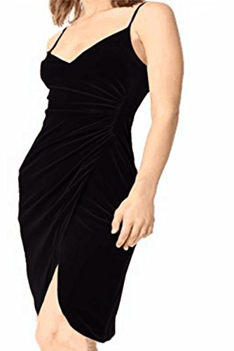 Ruched Spaghetti Straps - AMZ PLUS Women's Plus Size Spaghetti Strap Ruched Sleeveless Bodycon Party Dresses Black 2XL