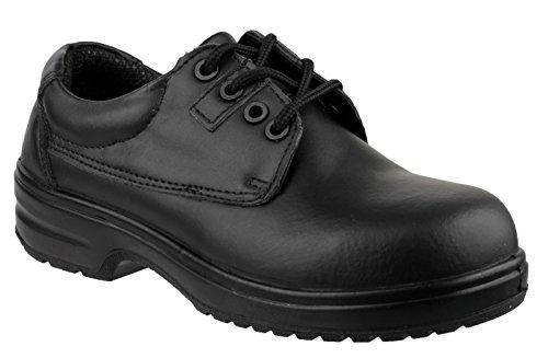 Amblers Fs121c Femmes Safety Sécurité Femme Chaussures Negro De Cuir Lighweight SrqS5Uw