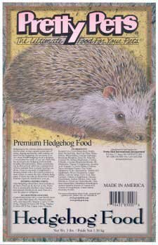 Pretty Pets Premium Hedgehog Food (8 lbs.) by Pretty Bird