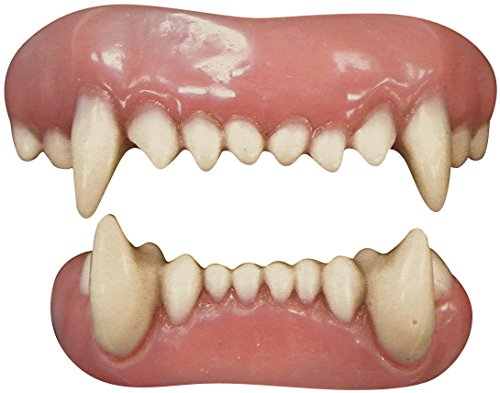 Tinsley Transfers Animal Teeth Adult Accessory -