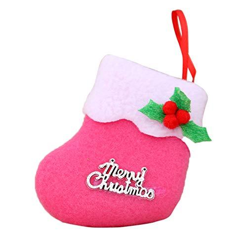 GzxtLTX-Socks,Christmas Decorations New Year Gifts Santa Snowman Socks Christmas Socks Gift (Pink) by GzxtLTX-Socks (Image #2)