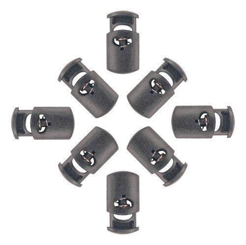 Aketek 50 Oval Cord Locks Black (Oval Cord)