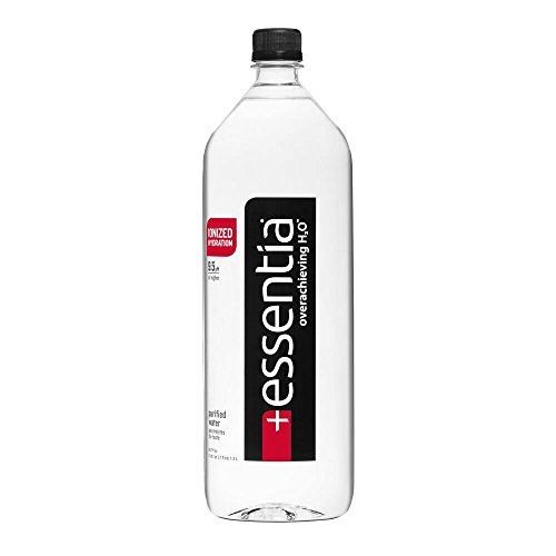 Essentia Ionized Alkaline 9.5 pH Bottled Water, 1.5 Liter, (Pack of 12)