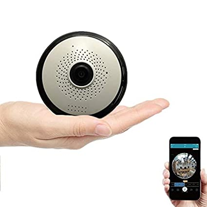 DOJA Barcelona | Camara de Vigilancia WiFi IP + SD 32gb Incluida | App en españ ol | Graba 70H de Video | con Movimiento Horizontal y Vertical Desde App | con Sensor de Movimiento y Vision Nocturna