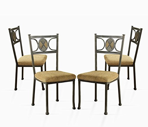 Steve Silver Company Carolyn Side Chairs, Set Of 4 Explained