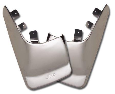 Putco 79642 Stainless Steel Mud Flaps - Putco Stainless Steel Mud Flaps