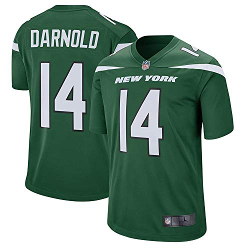 York Jersey New Jets (VF LSG Men's New York #14 Jets Sam Darnold Green Player Game Jersey M)