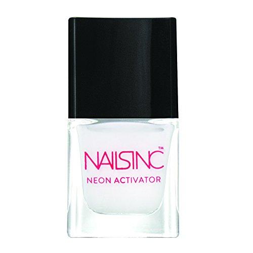 Nägel INC Neon Nagellack, Aktivator weiß Boden