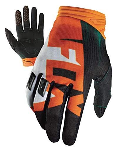 Motorcycle Dirtpaw Gloves (Fox Racing Dirtpaw Vandal Men's Off-Road Motorcycle Gloves - Green/Orange / Small)