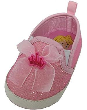 Princess Aurora Baby Girls Pink Sneakers - Infant
