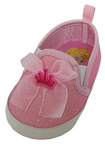 Disney Princess Aurora Baby Girls Pink Sneakers - 9-12 Months [3013] (Disney Princess Pink Dress)