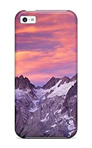 Protection Case For Iphone 5c / Case Cover For Iphone(clouds Over Sunset Washington)