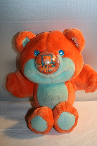 Vintage Playskool Nosy Bear Orange Basketball Plush Stuffed (Bear Playskool)
