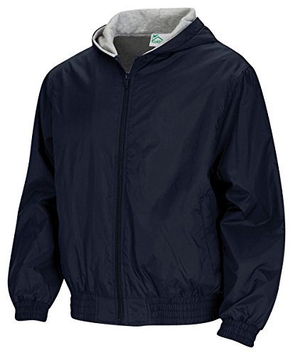 Hooded Lined Uniform - Classroom Uniforms CLASSROOM Big Boys' Uniform Lined Bomber Jacket, Navy, X-Large