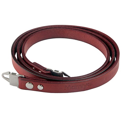 (Genuine Leather Strap With Lugs For Mamiya RB67 RZ67 M67 M645 C330 C220 Camera)