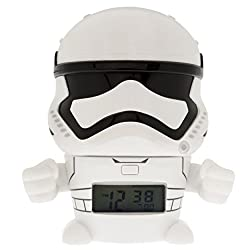 Bulb Botz 2021371 Star Wars Stormtrooper Night Light Alarm Clock