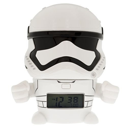 - Bulb Botz 2021371 Star Wars Stormtrooper Night Light Alarm Clock