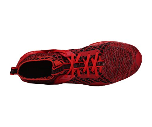 Red Puma Black Zapatillas Running de Unisex Red Ignite Evoknit Adulto wrpxqBr08