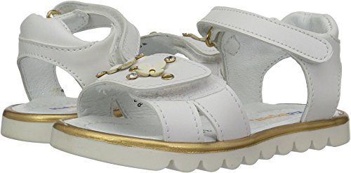 Kid Express Baby Girl's Jayden (Toddler/Little Kid) White Combo 27 M EU - Toddler White Combo Footwear