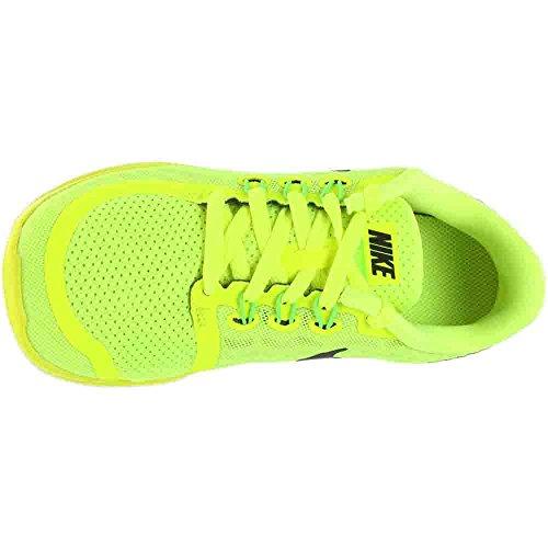 Nike Free 0 Volt Kids 5 Unisex Black Trainer wTadvZwxq