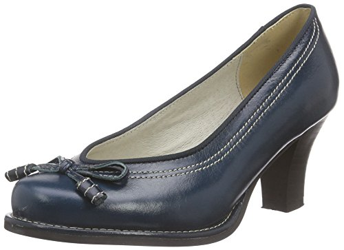 0598007 Taupe Closed Pumps Toe Andrea Blue Women's Conti ZqfxwnzAFE