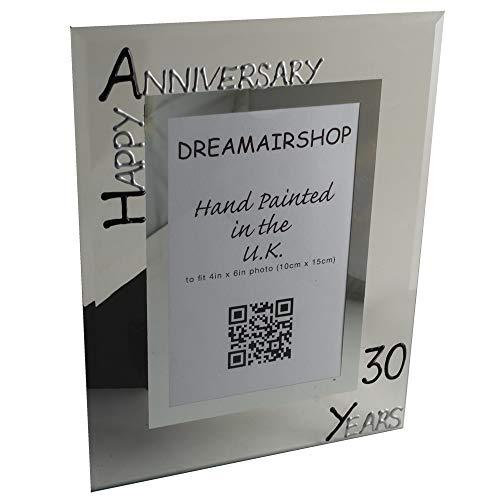 Dreamair 30th Anniversary Photo Frame: Port (Blk/SIL)