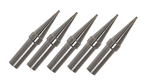 (Weller ETP Soldering Tips/Conical Style/ 0.031/ WES-51 Station/ 5 Pack)