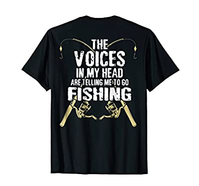 Funny Fisherman Gift Telling Me To Go Fishing Trout T-Shirt