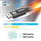 Inamax USB WiFi Adapter 1200Mbps, USB 3.0