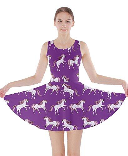 CowCow - Vestido - para mujer Violeta