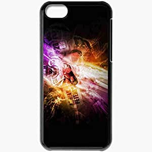 Personalized iPhone 5C Cell phone Case/Cover Skin 14492 adrian peterson by sbm832 d4a8aah Black