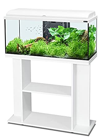 Conjunto de Acuario AquaDream 80, color Blanco, LED + mueble: Amazon ...