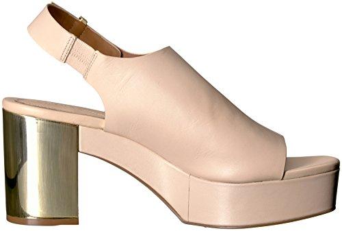 Calvin Klein Sandalo Con Plateau Donna, Sabbia, 6 M Us