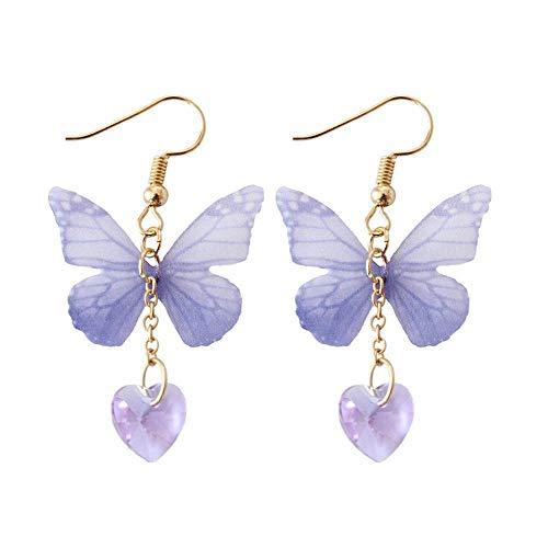 Fresh Style Yarns Butterfly Earrings Women Drop Earring Accessories Jewelry