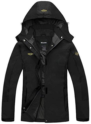 Price comparison product image Wantdo Women's Outerwear Mountain Waterproof Jacket Hooded Hiking Sportswear