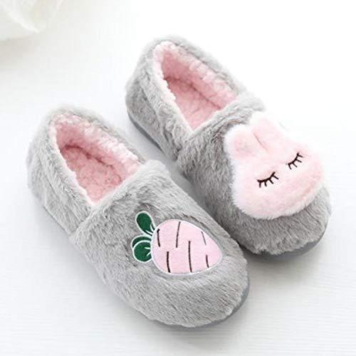 Donna Adorabile Westeng Di Leggero Autunno Pantofole Comfort Coniglio Antiscivolo Cotone In Ultra 40 Per Stile Inverno Morbido Caldo wBqHnxwvZ