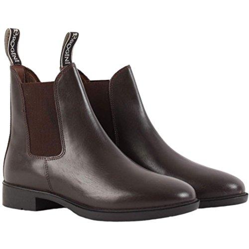 Brogini Pavía Jodhpur botas marrón