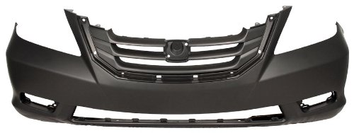 OE Replacement Honda Odyssey Front Bumper Cover (Partslink Number HO1000257)