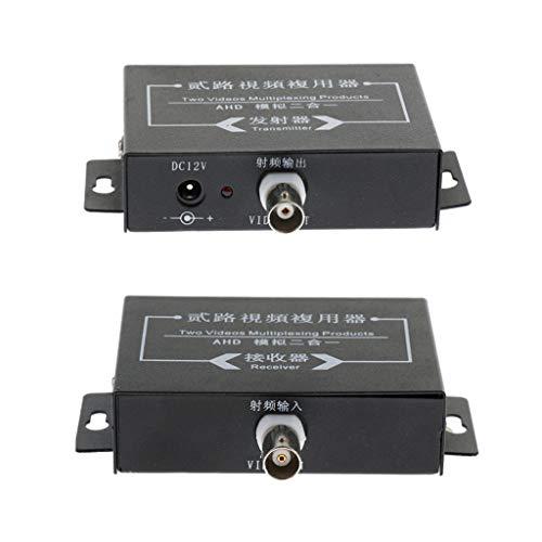 Baosity 2Pcs Industrial Surveillance Video Multiplexer 2Way Signal Receiver Transmitter by Baosity (Image #8)