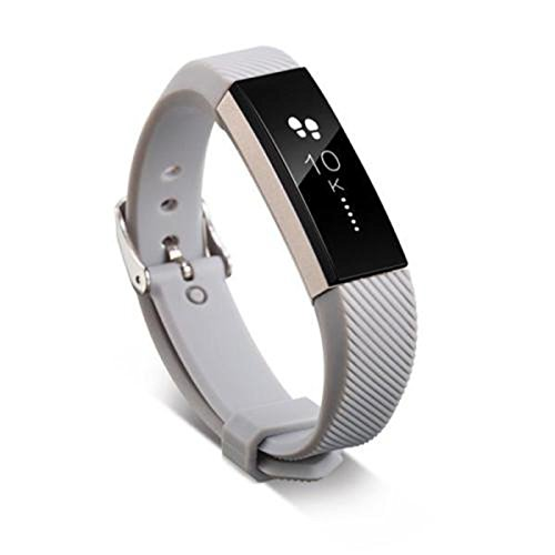 Fitbit Alta Smart Watch Wristband +Buckle - TOOGOO(R)Silicone Bracelet Replacement Wristband
