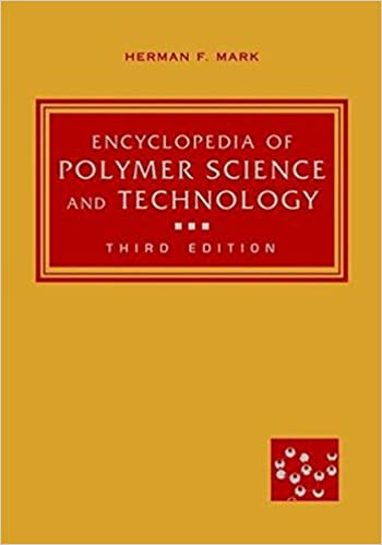 encyclopedia of polymer science and technology 4th edition free download