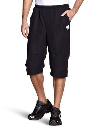 Lotto Sport - Pantalones de pádel para hombre, tamaño S, color fuerte n / caribe