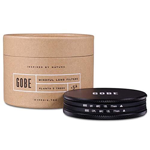 Gobe Filter Kit 77mm MRC 12-Layer: UV + CPL Polarizer