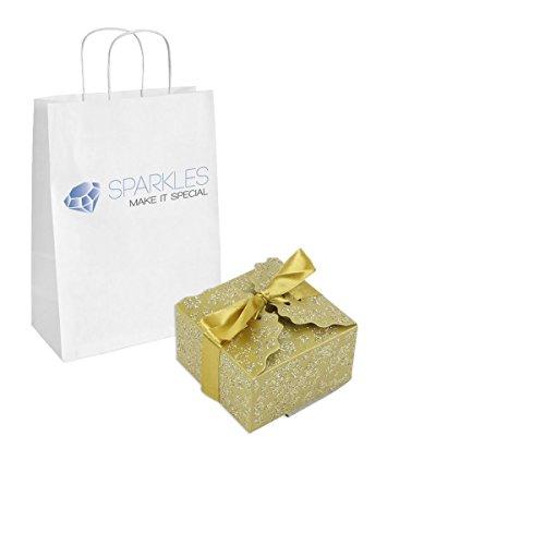Sparkles Make It Special 10-pcs Large Ribbon Favor - Sparkle Gift Box